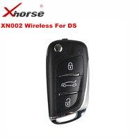 1 PCS XHORSE VVDI2 For DS Type Wireless Universal Remote Key 3 Buttons XHORSE XN002 Remote