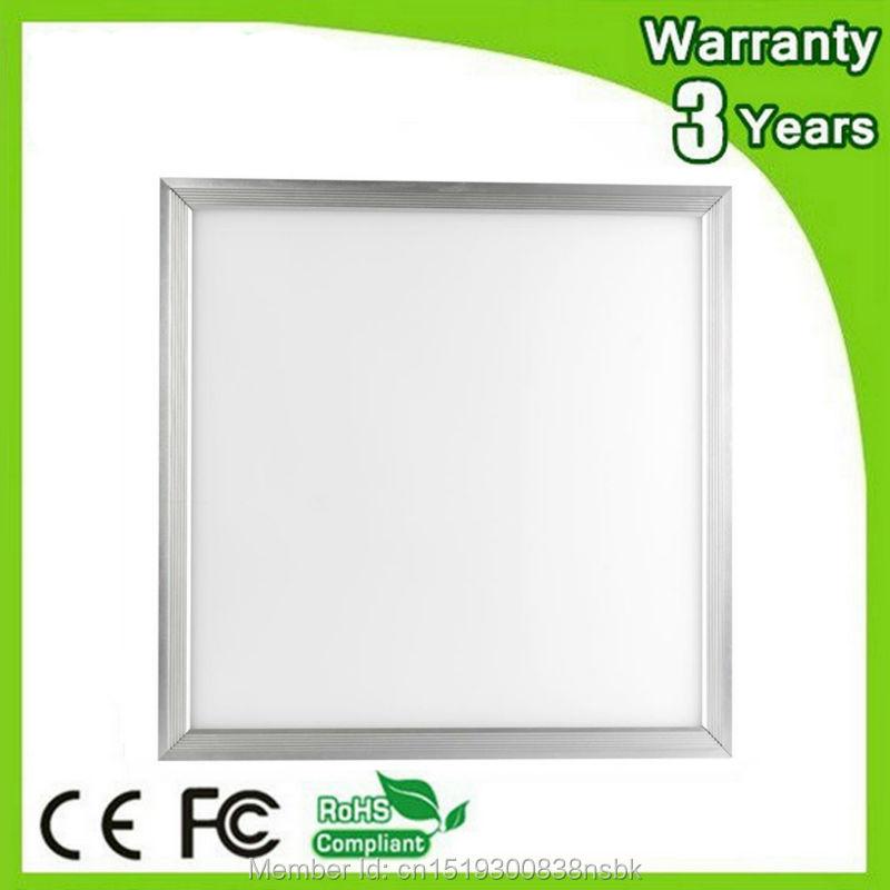 (5PCS/Lot) 85-265V 3 Years Warranty CE RoHS 48W 595*595 595x595 LED Panel Light 595x595mm