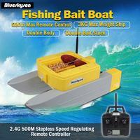 Новые Blueskysea T168 rc Лодка bait 500 м дистанционного лодки рыболовные приманки 3 кг жестокие двойная приманка наличии для рыбалки