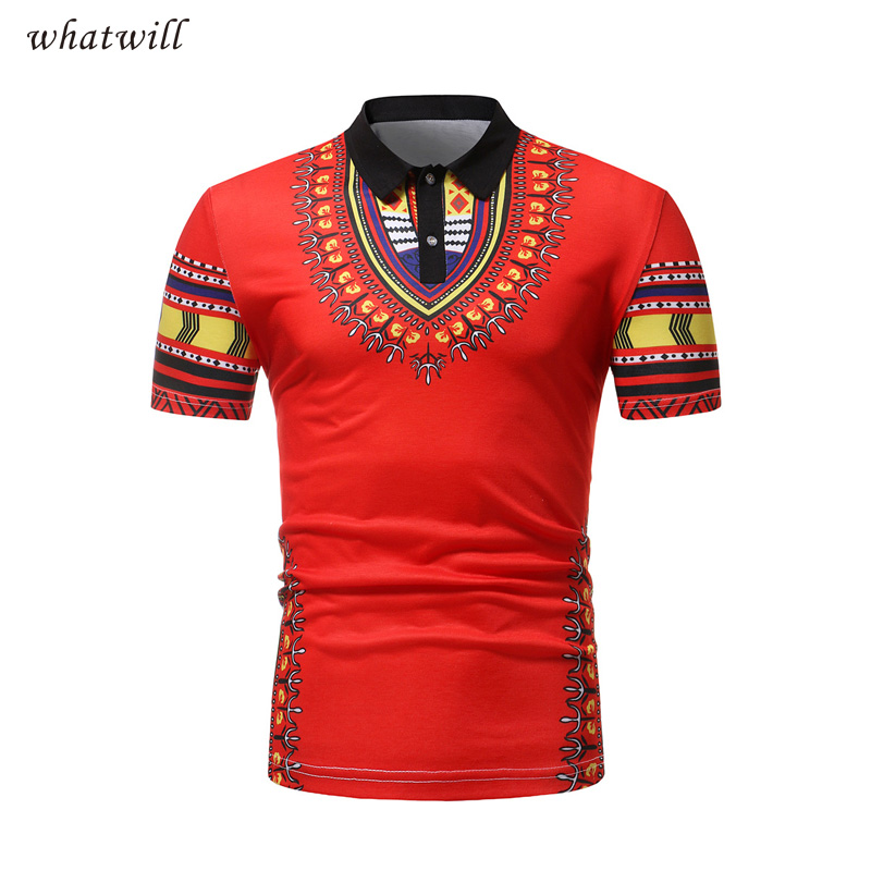 Casual wear 2018 fashion africa clothes polo shirts 3d printed clothing dashiki african dresses for women/men