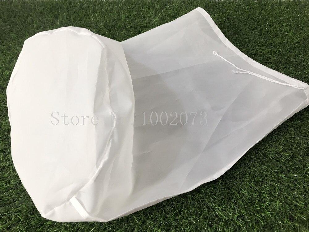 Food grade Tea Milk Coffee Juice Wine Mash Filter Bag Liquid Filter Bucket Homebrew beer Malt Filter Bag Colanders & Strainers  (7)