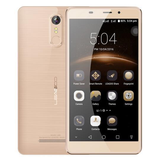 M8 3g teléfono móvil android 6.0 mt6580a leagoo 5.7 \