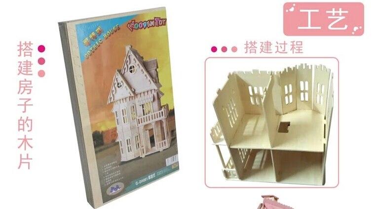 Mobili Per Casa Delle Bambole Fai Da Te : Caldo sole alice rosa miniatura fai da te in legno casa di bambola
