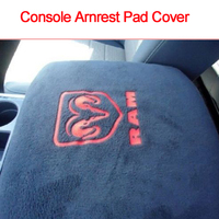 Hot Sale Car Styling Truck Center Console Armrest Protector Pad Cover For Dodge Ram 1500 2500