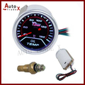 "Popular Sale -2"" 52mm Electrical Oil Temperature Car LED Gauge 40-150C/Auto Gauge With Sensor"