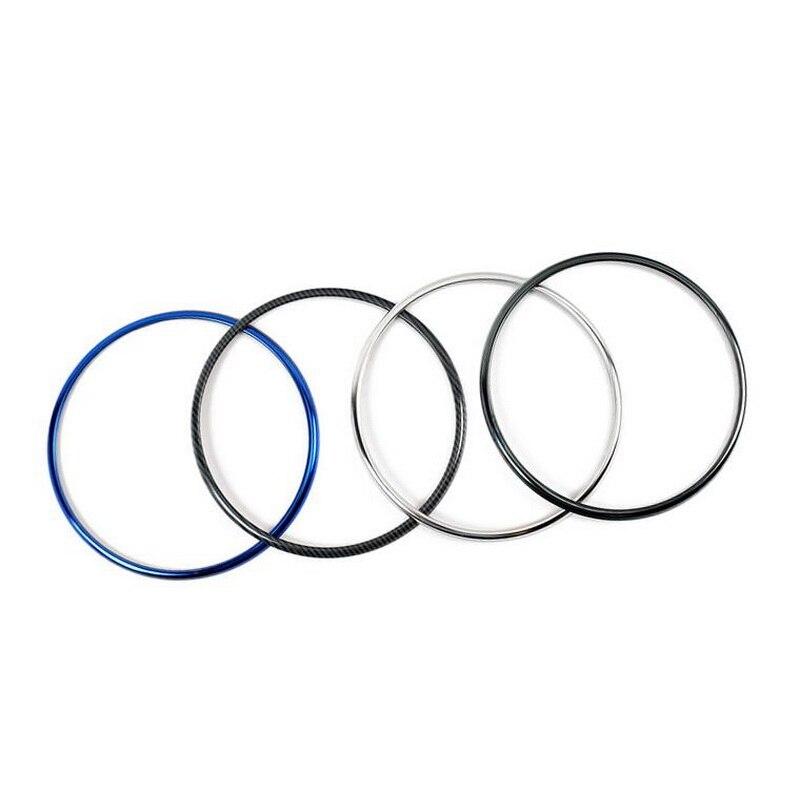 Tonlinker встроенный в дверь автомобиля колонки круг крышка наклейки для Honda vezel HRV Автомобиль Стайлинг 4 шт. ABS крышка наклейки