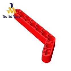BuildMOC Compatible Assembles Particles 32271 1x9(7x3)For Building Blocks Parts DIY LOGO Educational Tech Parts Toys