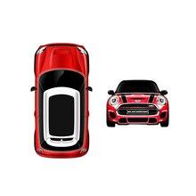 Мини спортивный автомобиль мобильный телефон с двумя сим-карты Мультфильм Роскошные Mini Bluetooth дозвона карты мобильный телефон