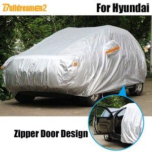 Buildreamen2 полное покрытие для автомобиля, защита от солнца, дождя, снега, защита от пыли, водонепроницаемый чехол для Hyundai i800 Matrix Coupe XG Dynasty Galloper ...