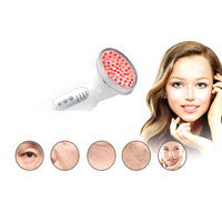 Blue Red Light Electric LED Facial Care Home Use Skin Rejuvenation Anti Acne Wrinkle Removal Therapy Beauty Make up Tools 30