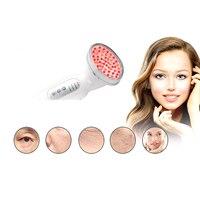 Mavi Kırmızı Işık Elektrik LED Yüz Bakımı Ev Kullanımı Cilt Gençleştirme Anti Akne Kırışıklık Kaldırma Terapi Güzellik makyaj araçları 30