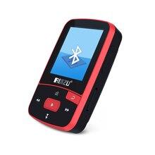 Clip mp3 HOTT New Portable MINI MP3 Player 8GB Sport Pedometer Bluetooth MP3 music player FM Radio TF Card 1.5 Screen Stopwatch