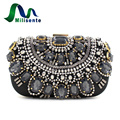 New Many Evening Bag Prom Handbag Party Wedding Purse With Chain For Women Black