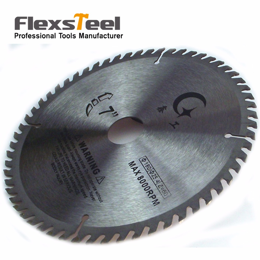 7 Inch 40 Teeth YG8 TCT Woodworking Circular Saw Blade Acrylic Plastic Cutting Blade General Purpose for Hard Soft Wood 6 60 teeth 140mm carbide saw blade for cutting polycarbonate plexiglass perspex acrylic professional 15 degree ab teeth