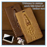 TZ05 genuine leather phone cover with card slot for Xiaomi Mi MAX 2(6.44') phone case for Xiaomi Mi MAX 2 flip cover