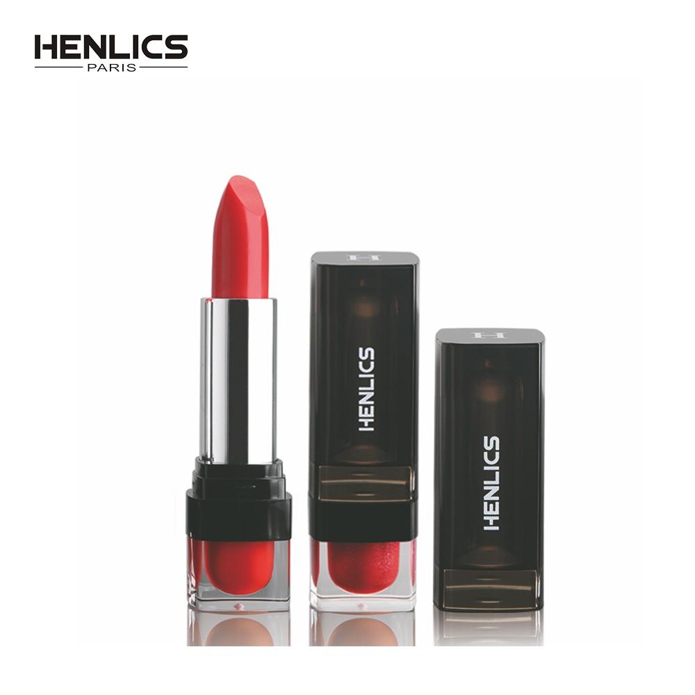 HENLICS Gorgeous Waterproof Velvet Lipsticks Long-lasting Easy to Wear Lips Makeup Cosmetics