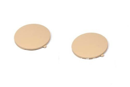 Interior rear seat ashtray side caps beige color 1 pair For Volkswagen For VW Golf Jetta MK4