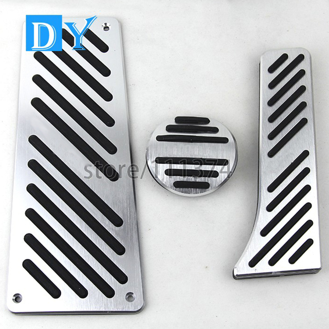NULLA LHD styling Aluminum Foot Rest Pedals Gas Fuel Brake Pedal Automatic For Benz Smart Fortwo Elf 2009 2010 2011- 2014