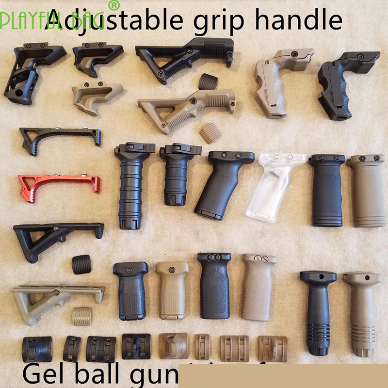 Outdoor Sports Gel Ball Gun Is Modified With Guns FAG TD Quick Remove The RVG Tail L Type Grip With The Flashlight/foot Frame