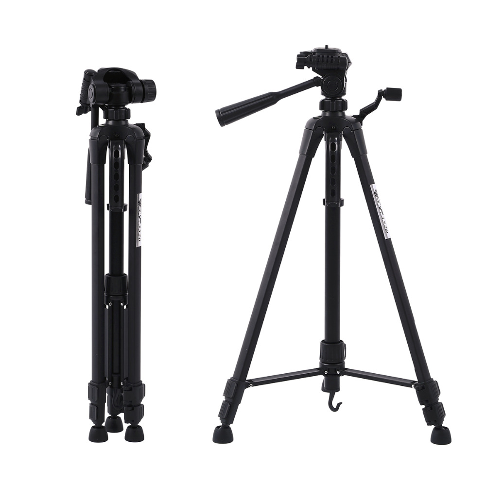 Protable Profesional Camera Tripod Stand For Canon Nikon Sony DSLR Camera Camcorder Tripod For Phone Camera