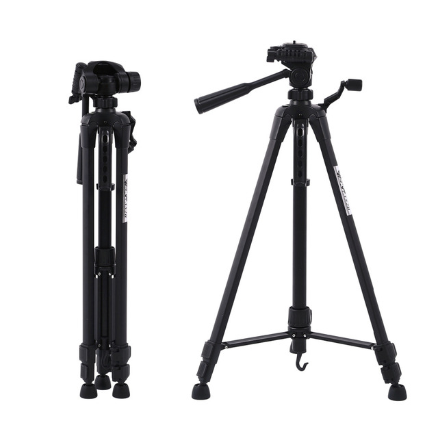 Protable Profesional Camera Tripod Stand for Canon Nikon Sony DSLR Camera Camcorder Tripod For Phone Camera