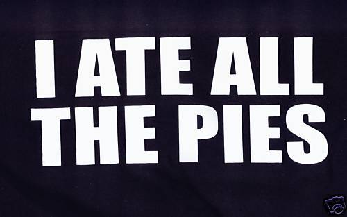I ATE ALL THE PIES VERY FUNNY BLACK T SHIRT SIZE XXXL New T Shirts Funny Tops Tee New Unisex Funny Tops in T Shirts from Men 39 s Clothing