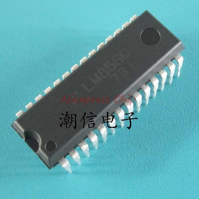 1pcs/lot LM8560 8560 DIP28 IC Best Quality In Stock