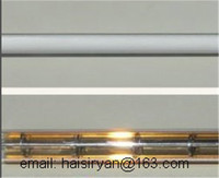 مخصصة 4000 w 500mm البعيدة واحدة أنبوب الكهربائية الهالوجين IR زجاج الكوارتز heate مصباح