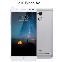 D'origine ZTE Blade A2 MTK6750 Octa base 4G LTE Smartphone 5.0 pouce HD 2 GB + 16 GB Android 5.1 13MP Dual SIM Touch ID Mobile téléphone