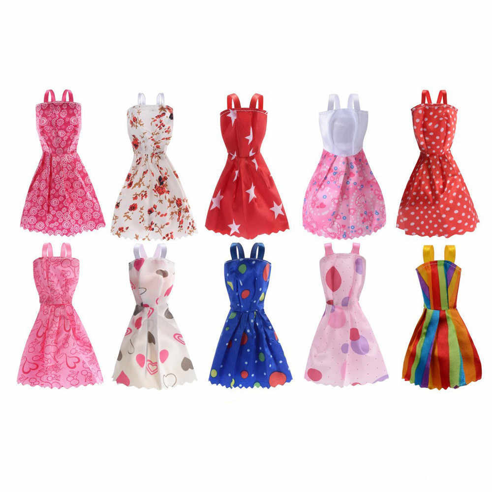 4 Pairs Fashion Party Daily Wear Dress Outfit Clothes Shoes For Barbie Doll