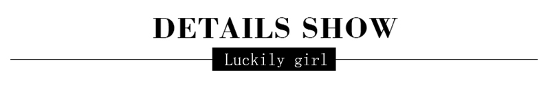 Luckily girl-实物细节图