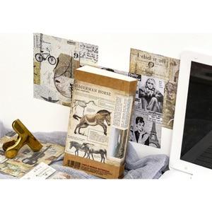 Image 3 - 10 упаковок/партия бронзовая серия фон для детей канцелярские наклейки четыре выбора Мода для подарков
