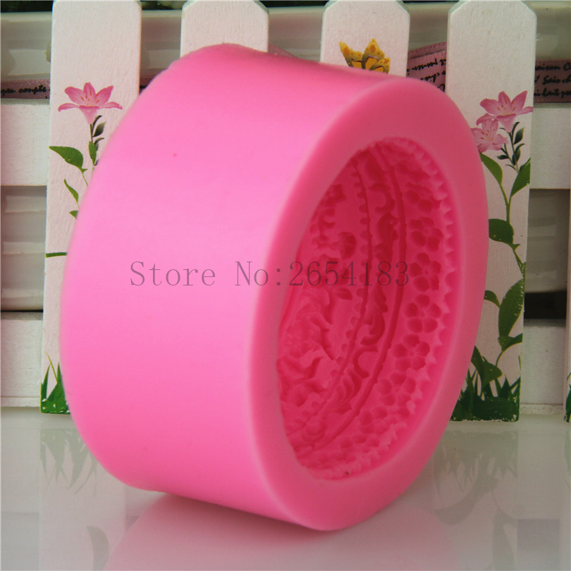 Chinese Luck For Money & Flower Soap 3D Cake Mold Silicone Fondant Cupcake Jelly Candy Chocolate Decoration Baking Tool FQ3344
