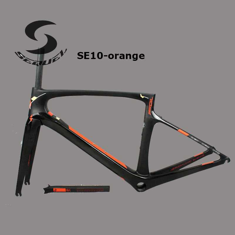 Foil 40 carbon bike frame SEQUEL Carbon Frame Bicycle Carbon Road Frame Internal Cabling cadre carbone Chinese Frame Road