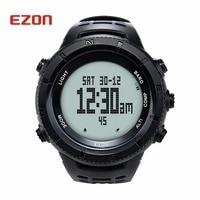 Новый оригинальный Ezon Многофункциональный Пеший Туризм часы Для мужчин спортивный цифровые часы альтиметр барометр Компасы термометр climing