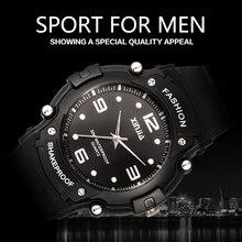 2016 XINJIA Brand Popular Japan Movement Men Quartz Watch Dive Running 30M Fashion Outdoor Sport Wristwatches For Swimming Diver