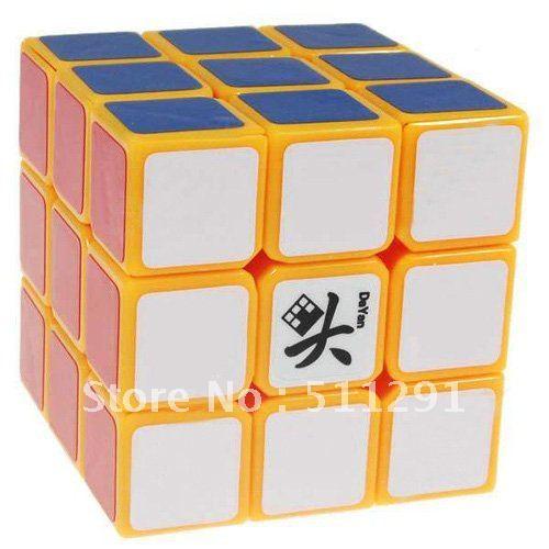 Free shipping! 3x3x3 DaYan GuHong Magic Cube Porcelain White, Blind Sudoku 5 Color