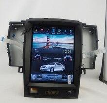 10,4 «tesla стиль вертикальный экран android 6,0 четырехъядерный Автомобильный GPS радио навигация для Toyota Crown 2003-2008
