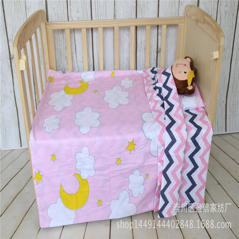 Baby Bedding Cotton Crib Baby Bed Surrounding Childrens Bed Anti-collision Bed Kit Can Be Customized Good Heat Preservation Bedding Sets Baby Bedding