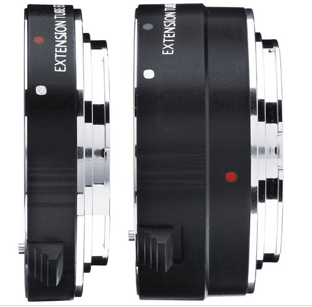 EF 12 + 25 monture en métal Auto Focus EF Macro Tube d'extension anneau pour Canon 5D3 5D2 5DRS 5DR 7D tous les appareils photo reflex Canon adaptateur d'objectif