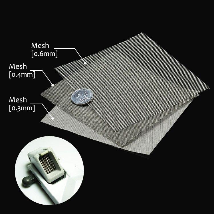 Материал модели для воздуховода из нержавеющей стали Gundam, металлический сетчатый гравированный лист
