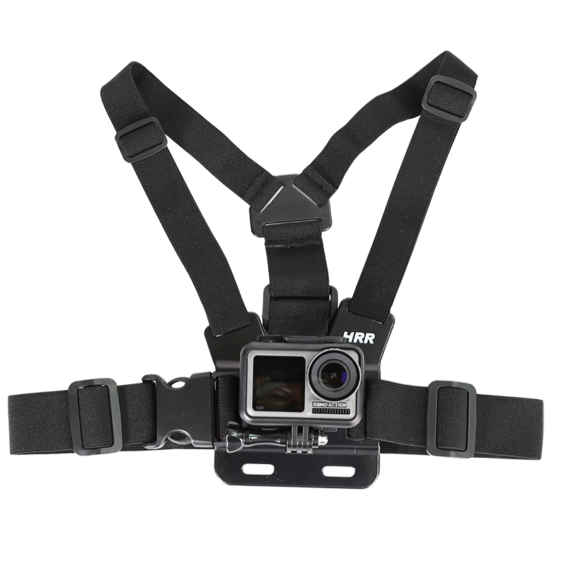 Chest Strap mount belt for Gopro hero 9 8 7 6 5 4 Xiaomi yi 4K DJI OSMO Action camera Harness for Go Pro SJCAM EKEN Accessories-5