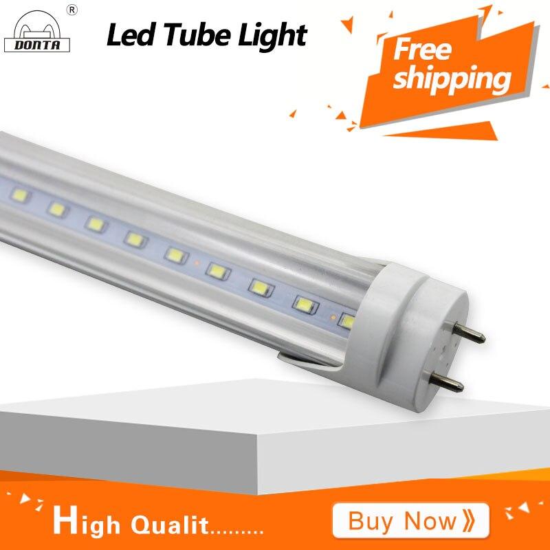 ФОТО Led T8 Tube Light 20w T8 LED Bulb Tube Super Bright Tube Lamp FCC 2Years Warranty 4FT 1200mm AC85-265v Led Living Room Lighting