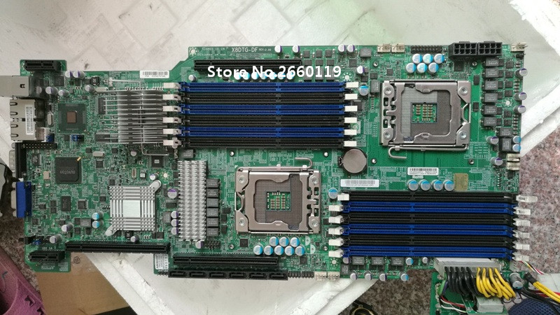 Server Motherboard For X8DTG-DF 1366 Mainboard Fully Tested