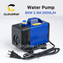 Submersible Water Pump 80W 3.5M 3500L/H IPX8 220V for CO2 Laser Engraving Cutting Machine