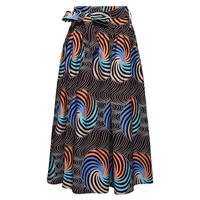 Candow Look Plus Size Africa Skirts Clothes Ankara Indian African Colorful Women Summer Fashion Bandage Long Skirt New Style