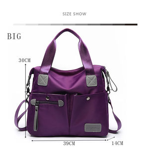 Image 4 - Large Capacity Messenger Bag Womens Waterproof Nylon Handbag Bags For Women 2018 Casual Shoulder Crossbody Bags bolsa feminina