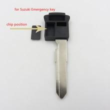 5 шт. пустой ключ ВЫСОКОГО Качества для Suzuki SX4 Grand Vitara Swift Чрезвычайных Транспондерный Ключ Лезвия Имеют Позиции Чип