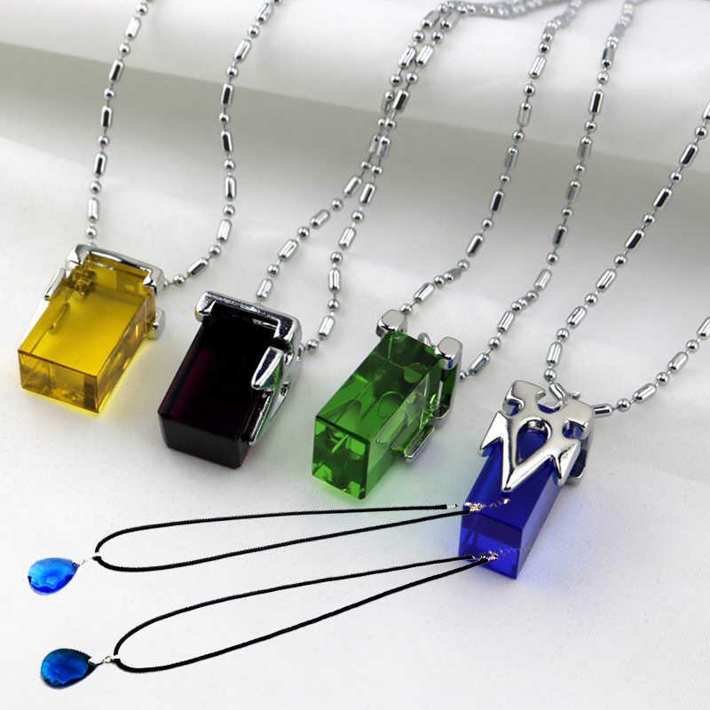 Аниме меч искусство онлайн косплей аксессуары набор Yui Сердце ожерелье SAO Yuuki Asuna