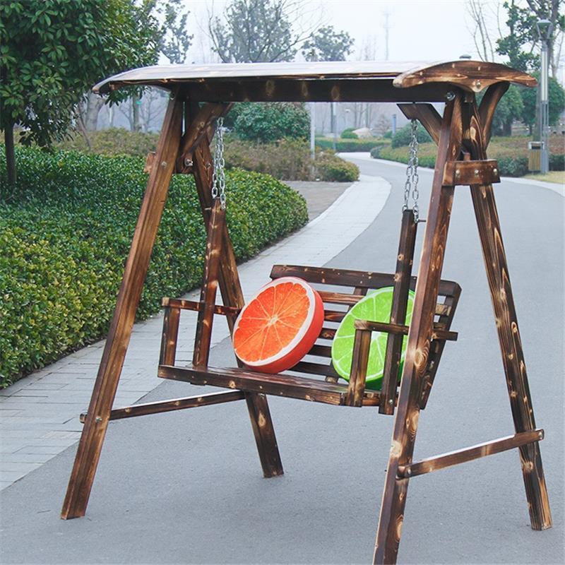 US $500.52 29% OFF|Balkon Meble Ogrodowe Exterieur Tuinset Tuinmeubels  Mueble Wooden Furniture Wood Vintage Salon De Jardin Retro Garden Swing-in  ...